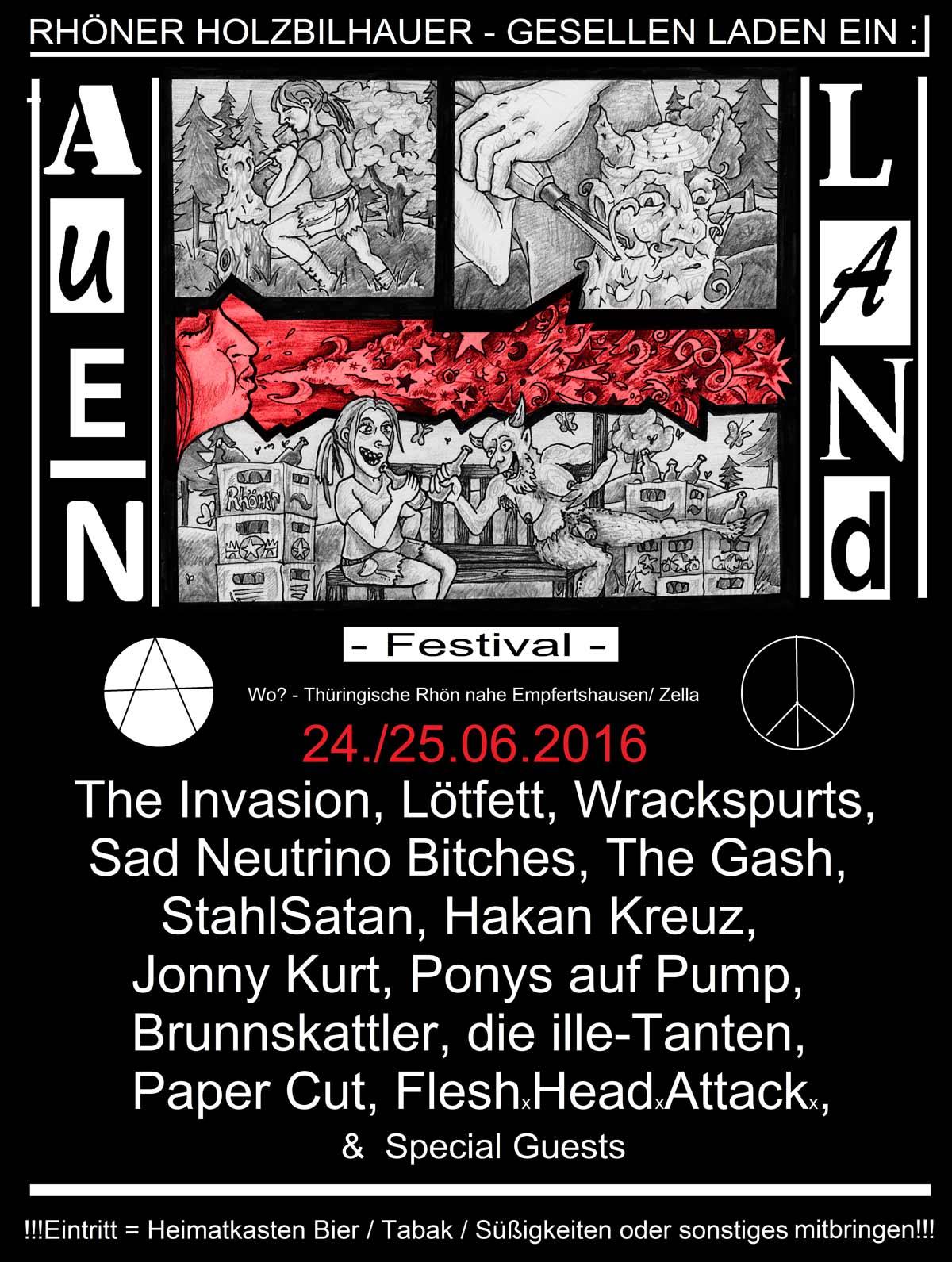 auenlandfest plakat
